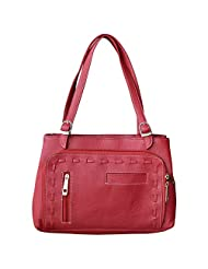 Trendy & Stylish Maroon Hand Bag - (SWND)