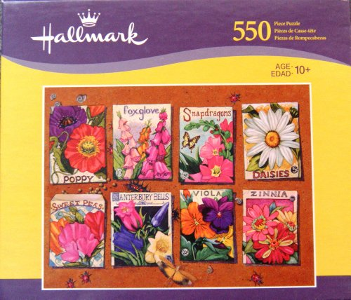 Flower Seeds | 550 Piece Puzzle by Hallmark - 1