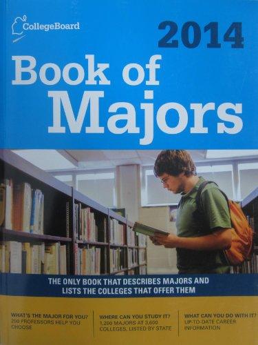 Book Of Majors 2014 (College Board Book Of Majors)