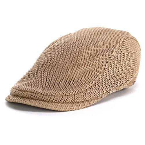 ハンチング ボルサリーノ 春夏 ハンチング帽 メンズ 大きいサイズあり borsalino コットンニット 細身シルエット 手洗い可能 ベージュ