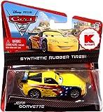 Disney / Pixar CARS 2 Movie Exclusive 155 Die Cast Car with Synthetic Rubber Tires Jeff Gorvette