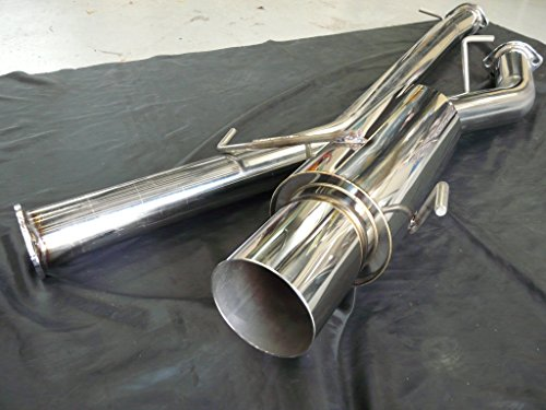 CT9A ランサー エボリューション 9 オール ステンレスマフラー & サイレンサーセット 80-115Φ  砲弾(150Φ) ターボ用