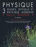 echange, troc Harris Benson - Physique Pack 2 volumes : Volume 3, Ondes, optique et physique moderne avec solutions et corrigé des problèmes (1Cédérom)