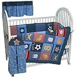 All Stars 6 Piece Crib Bedding Set