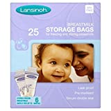 Lansinoh Baby Breast Milk Storage Bags 25 per pack