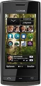 Nokia 500 Smartphone (8,1 cm (3,2 Zoll) Display, Touchscreen, 5 Megapixel Kamera, 2GB Speicher) schwarz