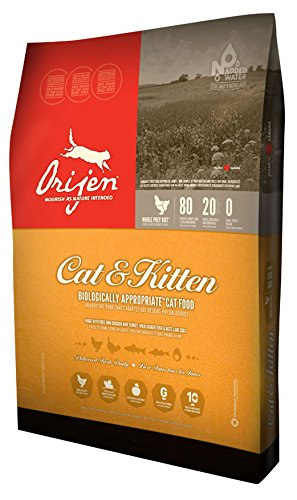 Orijen Cat & Kitten Dry Cat Food 5 Lbs. (Ebay Canada Only compare prices)