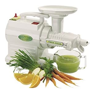 Image of the Green Star GS-1000 twin gear juice extractor