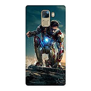Ajay Enterprises ready for action Back Case Cover for Huawei Honor 7