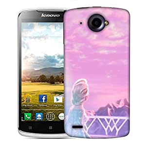 Snoogg Look for him Designer Protective Back Case Cover For Lenovo S920