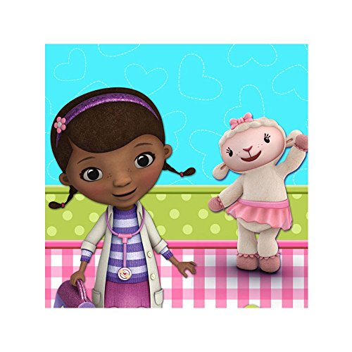 Hallmark 230433 Disney Junior Doc McStuffins Plastic Tablecover