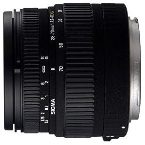 Sigma 28-70mm f/2.8-4 DG Aspherical Large Aperture Zoom Lens for Canon SLR Cameras