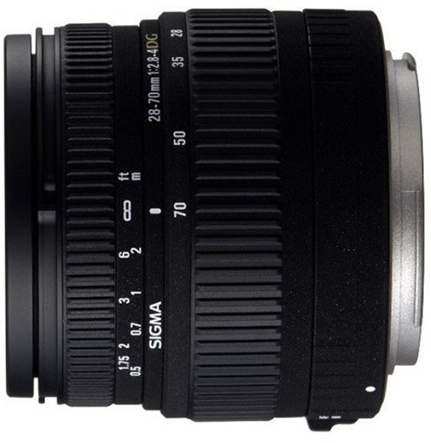 The Electronics World |   Sigma 28-70mm f/2.8-4 DG Aspherical Large Aperture  Zoom Lens for Canon SLR Cameras