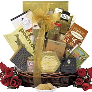 Wedding Gift Baskets Amazon : ... wedding anniversary gift basket forever yours from greatarrivals gift