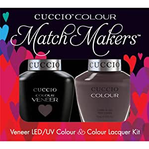 Cuccio Veneer and Colour Matchmaker Nail Polish Belize Me