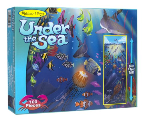 Melissa and doug under the sea 100 piece floor puzzle for 100 piece floor puzzles