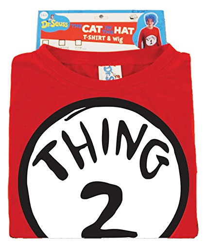 Dr Seuss Thing 2 Adult Costume W Wig Sm-Md Halloween Costume