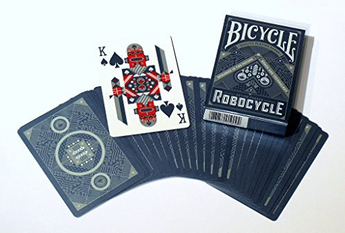 Bicycle Robocycle Playing Cards (Blue)