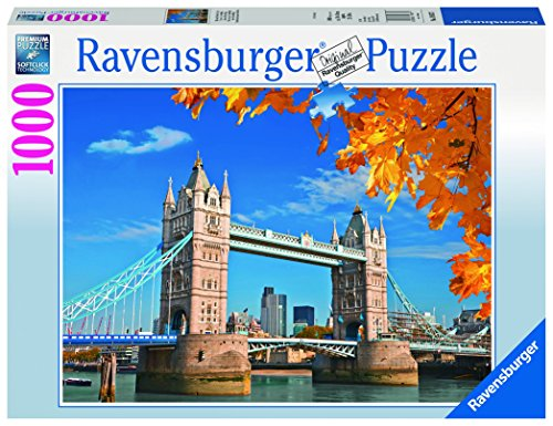 Ravensburger Italy 196371 - Puzzle Vista sul Tower Bridge, 1000 Pezzi, Multicolore