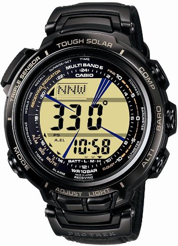 CASIO (カシオ) 腕時計 PROTREK MANASLU プロトレック マナスル タフソーラー 電波時計 MULTIBAND 6 PRX-2000L-1JF メンズ