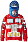 Transformers Boys 2-7 4-7 Optimus Prime Costume Hoody