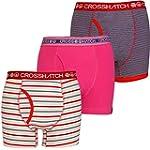 New Mens Crosshatch Designer Boxer Sh...
