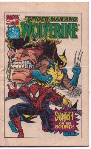 Spider-Man And Wolverine: Danger On The Docks. Volume 1, Number 2. 1993 (Drakes Presents Your Favorite Marvel Super Heroes Vs Your Favorite Super Villians Giveaway) front-733086