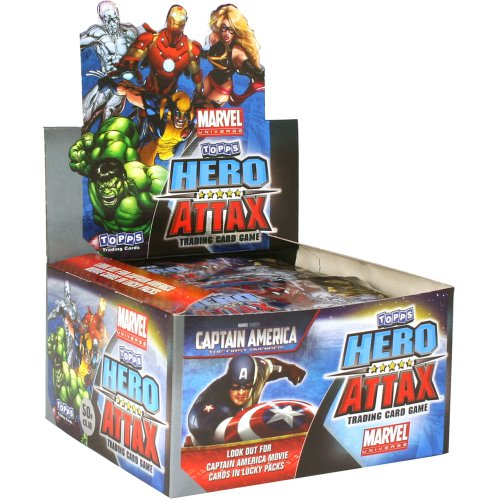 Topps Attax Marvel Hero Attax Booster Box (Pack of 50)