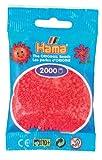Hama 2000 Mini Beads Bright Pink