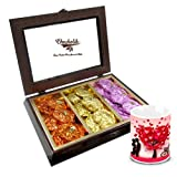 Valentine Chocholik Luxury Chocolates - Smashed Collection Of Rocks With Love Mug