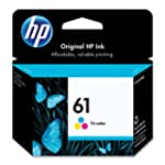 HP 61 (CH562WN) Tri-color Original In...