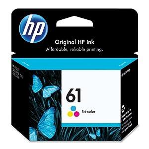HP 61 (CH562WN) Tri-color Original Ink Cartridge