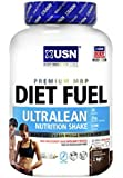 USN Diet Fuel Ultralean Weight Control Meal Replacement Shake Powder, Chocolate - 2 kg