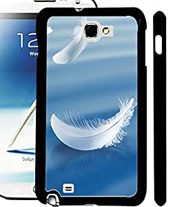 ColourCraft Feathers Design Back Case Cover for SAMSUNG GALAXY NOTE 2 N7100