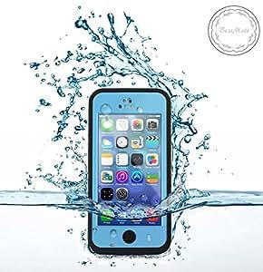 Bessmate 2 Meters Underwater Waterproof Dirtproof Snowproof Shockproof Skin Hard Phone Shell with Rugged Protection...