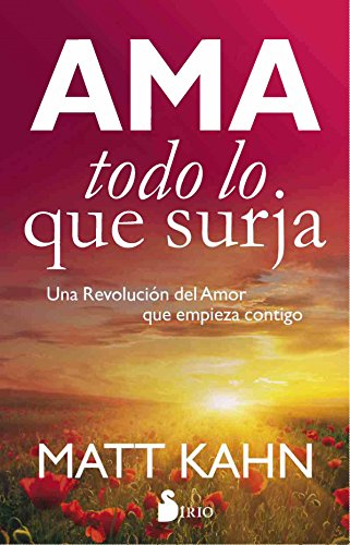 Book Cover: Ama todo lo que surja