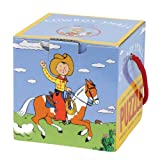 Mudpuppy Cowboy Small Mini Cube Puzzle Multi ~ Mudpuppy