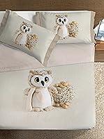 Ipersan Juego De Sábanas Owl (Beige)
