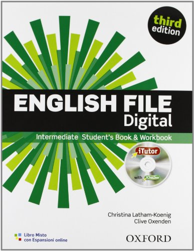 English file digital Intermediate Entry checker Student's book Workbook iTutor iChecker Con espansione online  PDF