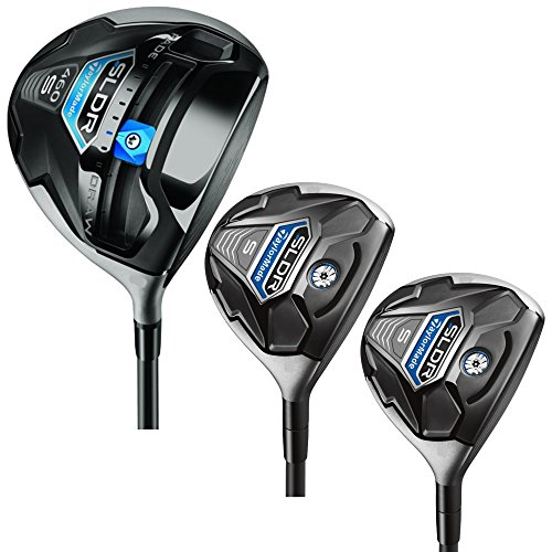 TaylorMade SLDR S Driver Fairways, 3 Piece Combo (Stiff) (Taylor Made Driver Set compare prices)