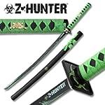 Zombie Hunter Green Katana Ninja Samu...