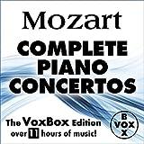 Mozart: Complete Solo Piano Concertos (The Voxbox Edition)
