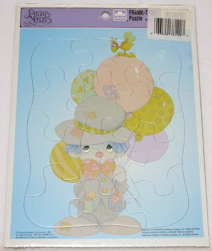 1989 Precious Moments Frame Tray Clown Puzzle - 1