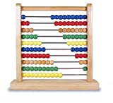Melissa & Doug Classic Wooden Abacus