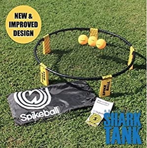 Spikeball Combo Meal (3 Balls, Drawstring Bag and Rules)