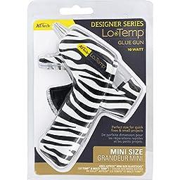 Adtech Low Temperature Glue Gun, Mini, White Zebra