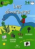 echange, troc Florence Doutremépuich, Françoise Perraud - Les dinosaures avec Gribouille la grenouille 5-6 ans Grande Section