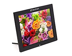 XElectron 15 Inch HD Ready Digital Photo Frame With Fully Functional Remote (Black)