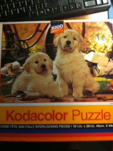 "Kodacolor Puzzle - ""Jack and Jill"" 1000 Piece Puppy Puzzle (1994)"