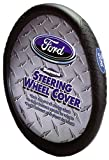 Ford Diamond Plate Grip Style Steering Wheel Cover